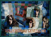 Van der Graaf Generator (1972) powder paints by Ewart Shaw